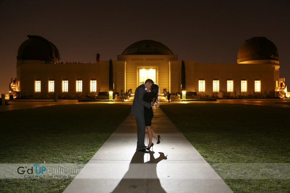 Andrea + Shane Engagement Photo Session at Griffith Park Part 2