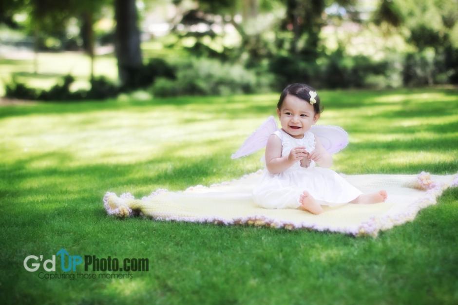 Camila's Butterfly Princess Photo Shoot