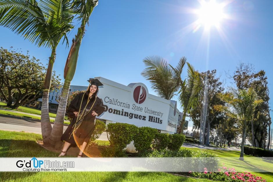California Statue University Pre-Graduation Photos of Samantha Hernandez
