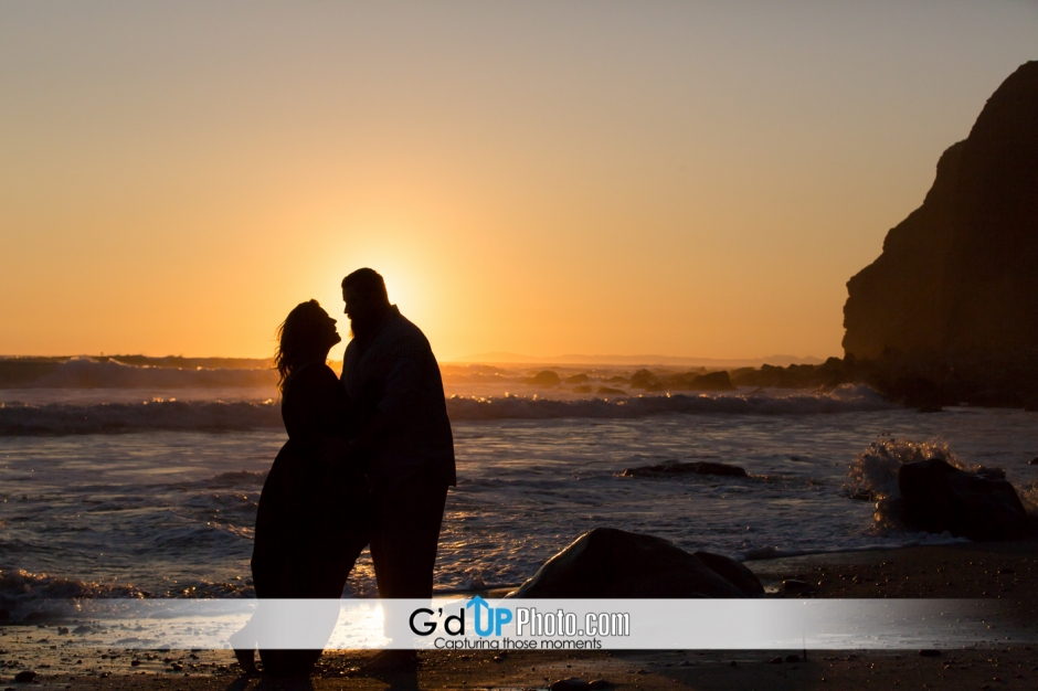 Alexis and Jeff's engagement photos at Dana Point Harbor